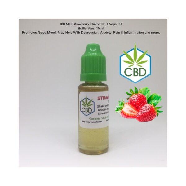 Strawberry CBD Vape Oil